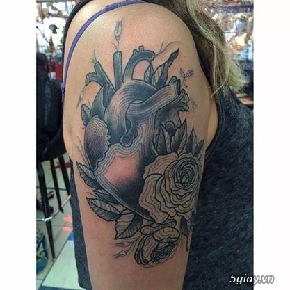 Đức Tattoo: Chuyên Xăm nghệ thuật Tattoo - 13