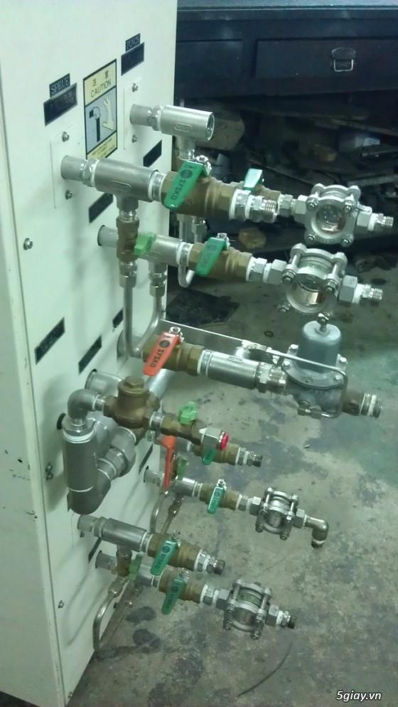 BÁN Máy làm lạnh Chiller Inverter 15HP, Máy nước nóng ổn nhiệt khuôn, Festo, Servo... - 17