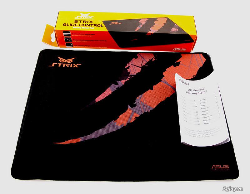 Đánh giá nhanh 2 Mouse Pad Strix Glide Speed và Glide Control - 36842