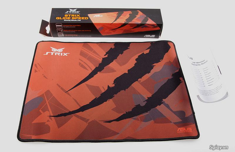 Đánh giá nhanh 2 Mouse Pad Strix Glide Speed và Glide Control - 36843