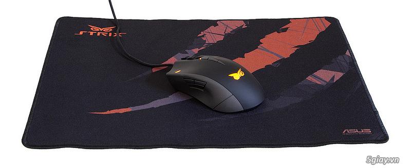 Đánh giá nhanh 2 Mouse Pad Strix Glide Speed và Glide Control - 36848