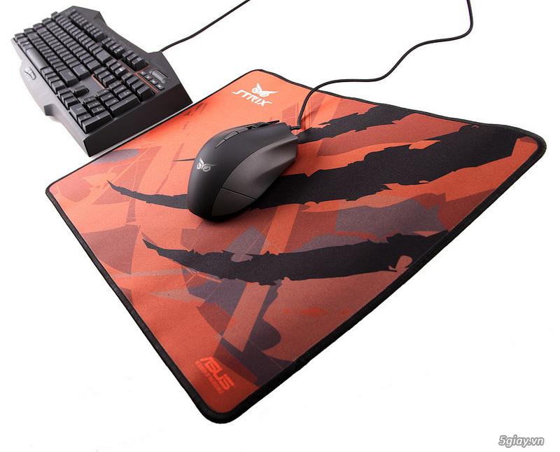 Đánh giá nhanh 2 Mouse Pad Strix Glide Speed và Glide Control - 36850