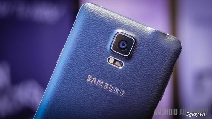 Samsung có video mở hộp Galaxy Note 4 chính thức