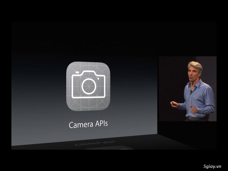 Thiết lập thủ công như máy chuyên nghiệp cho camera của các thiết bị iOS8