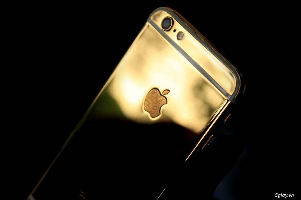 Trên tay iPhone 6 mạ vàng tại showroom Golden Ace