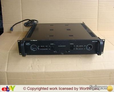 DH 3600 ,Mixer BMB,EQ ALEESIS 230 ,Power QSC ,Loa bose 301 sr III ,V.JBL ION 15 ... - 6
