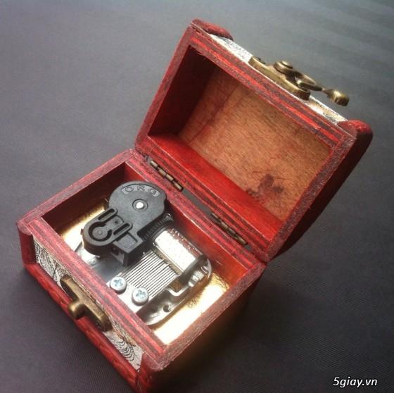 Hộp nhạc Canon , Doraemon ,Đồng thoại ... - - Hộp kiểu mới - 2
