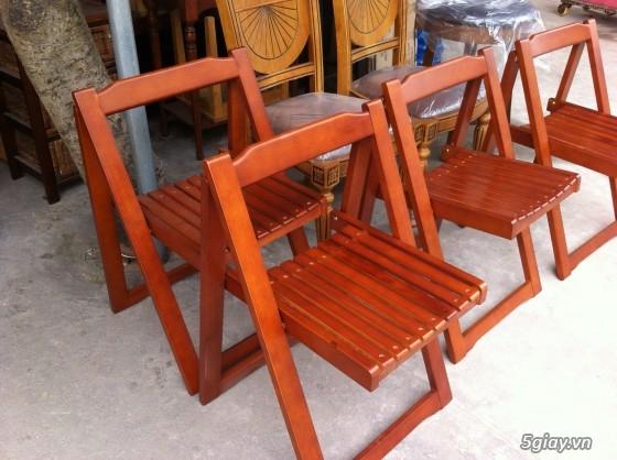 bàn ghế xếp xuất khẩu thanh lý - 2