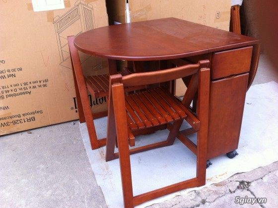 bàn ghế xếp xuất khẩu thanh lý - 1