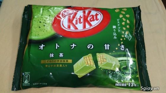Socolate KitKat Trà Xanh Made In Japan !