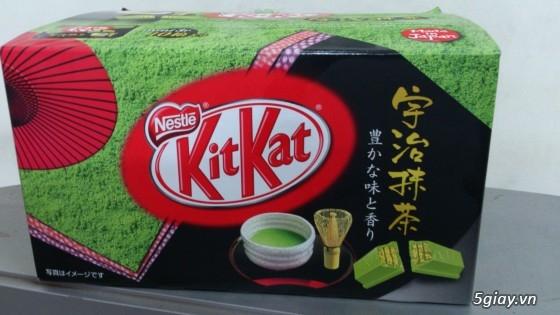 Socolate KitKat Trà Xanh Made In Japan ! - 3