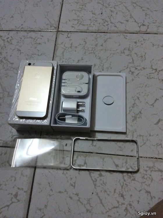 Iphone 5s, Gold 32g (world), fullbox 99%, bán hay giao lưu - 4