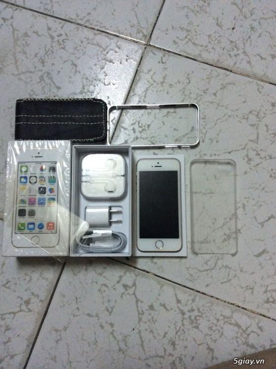 Iphone 5s, Gold 32g (world), fullbox 99%, bán hay giao lưu - 3