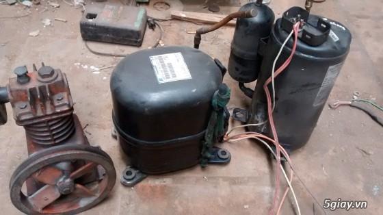 bán block lạnh và đầu máy nén khí