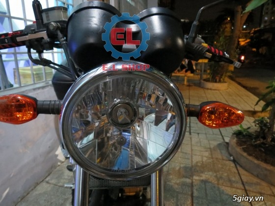E.L SHOP Đèn led siêu sáng xe mô tô: XHP50, XHP70 i7, Cree, Philips Lumiled,Gương cầu LED xe gắn máy - 11