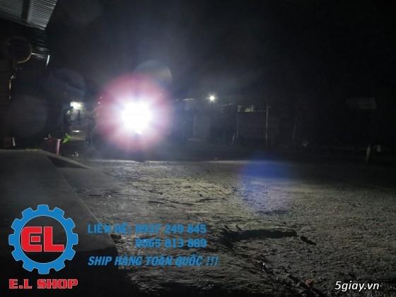 E.L SHOP Đèn led siêu sáng xe mô tô: XHP50, XHP70 i7, Cree, Philips Lumiled,Gương cầu LED xe gắn máy - 8