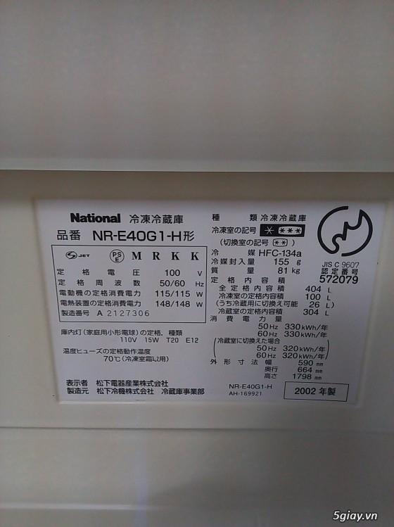 Tủ Lạnh Nội Địa Nhật - tiết kiệm điện (100v) - 12