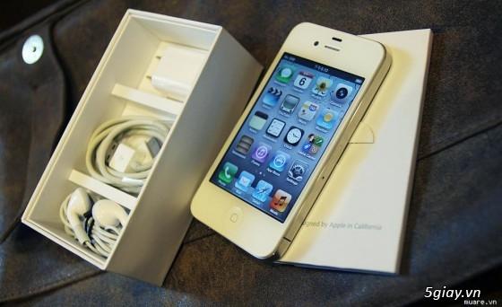 [Bán Nhanh] iPhone 4 8GB,Màu Trắng,Like New 99%, Bản World,Bảo Hành 1 Tháng. Giá 3Tr6 - 8