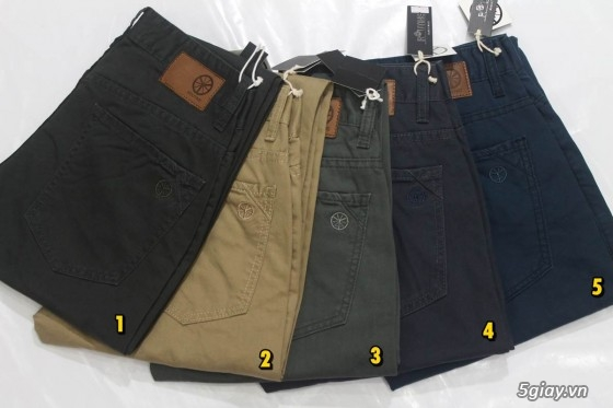 Quần kaki ZARA SlimFit,quần jean Levi's 511 SlimFit,quần short SuperDry,short jean CK - 46