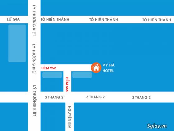 Khách sạn Q.10 : 30.000/1h - 130.000/Đêm   Điểm nghỉ ngơi lý tưởng   WIFI - Thang Máy