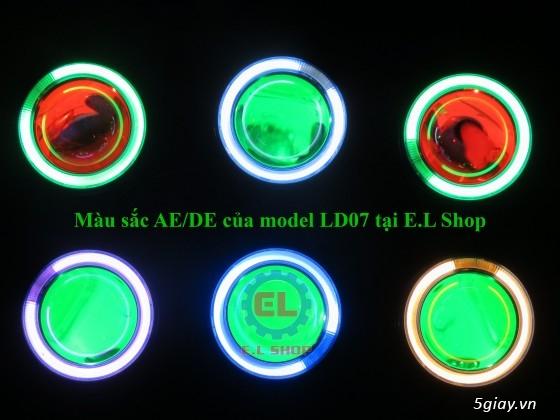 E.L SHOP Đèn led siêu sáng xe mô tô: XHP50, XHP70 i7, Cree, Philips Lumiled,Gương cầu LED xe gắn máy - 3