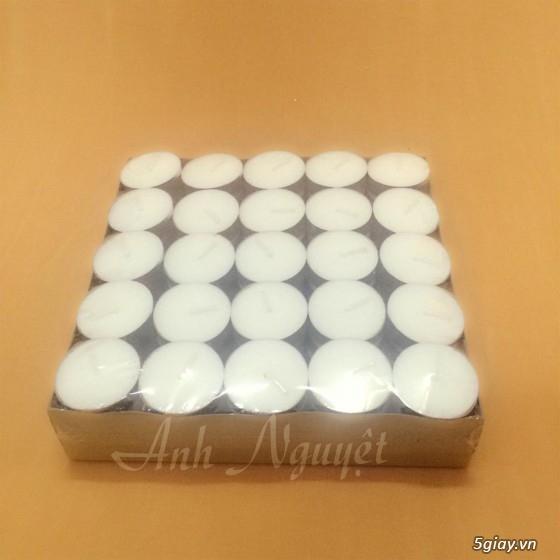 Nến Tealight. Nến đế nhôm giá rẻ (HCM) - 2