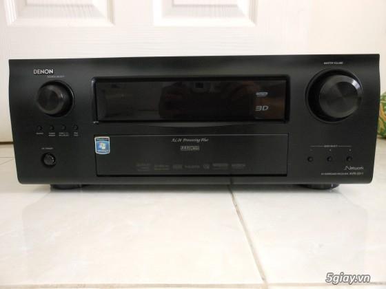 Receiver và ampli (nghe nhạc & xem phim-3D-dtsHD-trueHD-HDMA)loa-center-sub-surround.