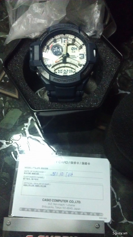 Đồng hồ Casio G-Shock mới 100% [Full Box, Full hình ] Chính hãng giá chất - 3