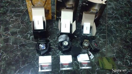 Đồng hồ Casio G-Shock mới 100% [Full Box, Full hình ] Chính hãng giá chất