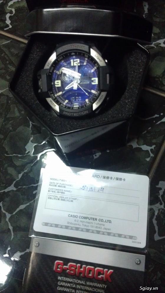 Đồng hồ Casio G-Shock mới 100% [Full Box, Full hình ] Chính hãng giá chất - 1