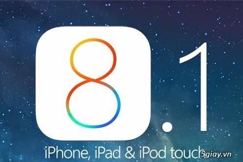 Link tải và hướng dẫn update iOS 8.1 thủ công - 40389