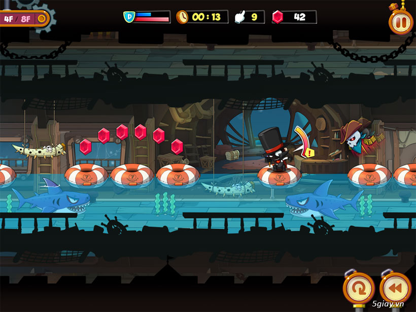 Thief Lupin 2: game gây ghiện với đồ họa đẹp mắt - 38593