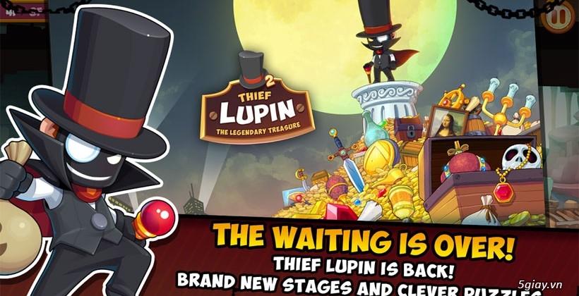 Thief Lupin 2: game gây ghiện với đồ họa đẹp mắt - 38594