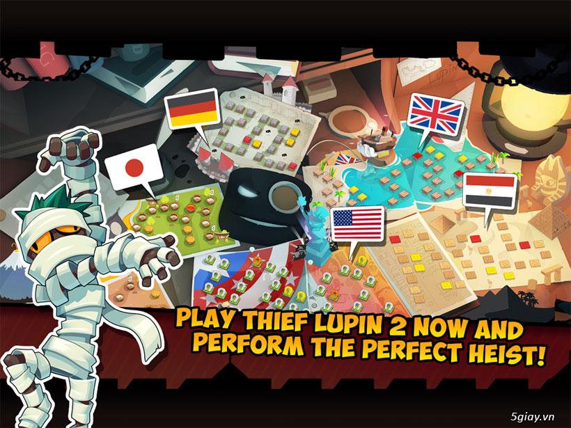 Thief Lupin 2: game gây ghiện với đồ họa đẹp mắt - 38596