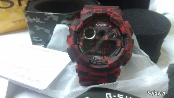 Đồng hồ Casio G-Shock mới 100% [Full Box, Full hình ] Chính hãng giá chất - 7