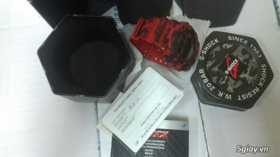 Đồng hồ Casio G-Shock mới 100% [Full Box, Full hình ] Chính hãng giá chất - 8