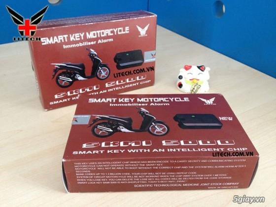 Khóa Chống Trộm Xe Máy Smartkey,Khóa Điều Khiển Bằng ĐT,Thiết Bị Định Vị GPS MINH T - 17