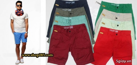 Quần kaki ZARA SlimFit,quần jean Levi's 511 SlimFit,quần short SuperDry,short jean CK - 29