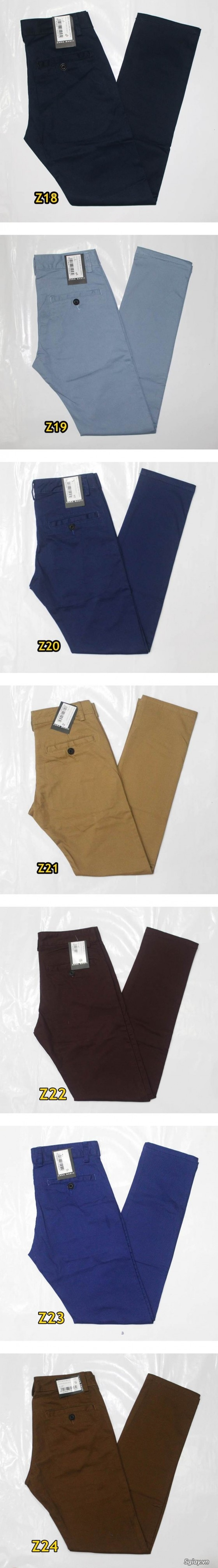 Quần kaki ZARA SlimFit,quần jean Levi's 511 SlimFit,quần short SuperDry,short jean CK - 41