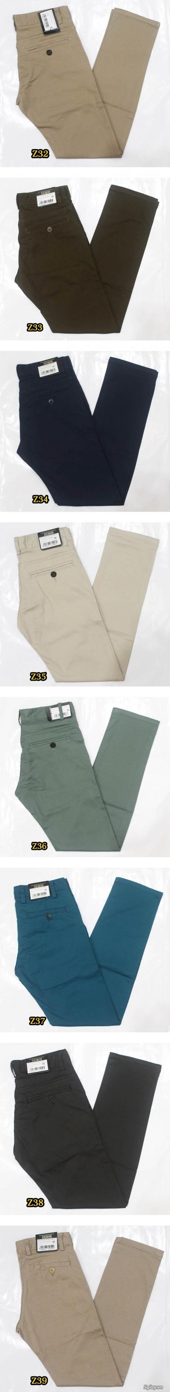 Quần kaki ZARA SlimFit,quần jean Levi's 511 SlimFit,quần short SuperDry,short jean CK - 43