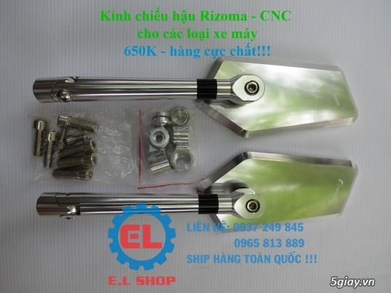 E.L SHOP Đèn led siêu sáng xe mô tô: XHP50, XHP70 i7, Cree, Philips Lumiled,Gương cầu LED xe gắn máy - 31