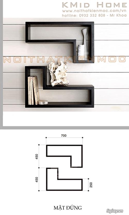 Tủ Kệ phòng khách - VẺ ĐẸP từ sự ĐƠN GIẢN & TINH TẾ - 4