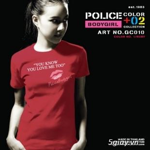 Bỏ SỈ/LẺ Áo Thun Police Bodysize Nam&Nữ hàng xách tay từ Thái Lan - 22