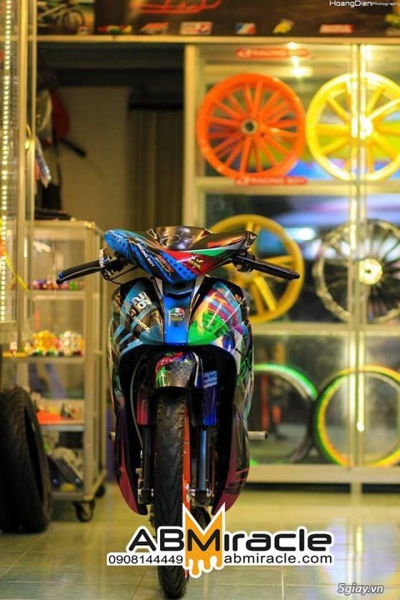 [Airbrush] SƠN TEM ĐẤU & VẼ 3D trên xe máy, motor --- Cập nhật liên tục - 42