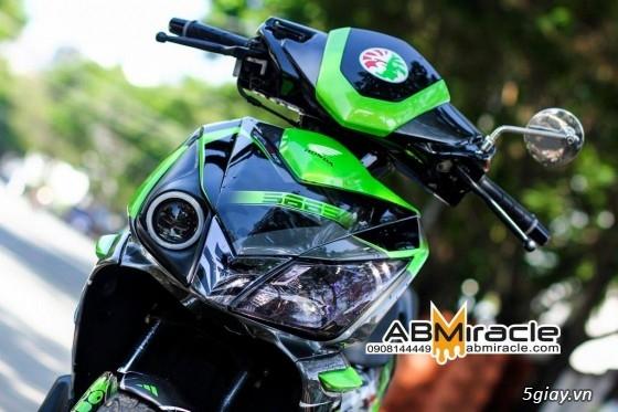 [Airbrush] SƠN TEM ĐẤU & VẼ 3D trên xe máy, motor --- Cập nhật liên tục - 48