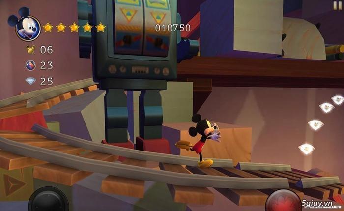 Siêu phẩm phiêu lưu cổ điển cùng chuột Mickey với Castle of Illusion - 63250
