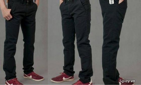 [MR.BEAN] Quần jean, áo sơ mi, áo thun nam, mũ nón, giày dép (Holliter, Aber...) - 18