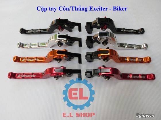 E.L SHOP Đèn led siêu sáng xe mô tô: XHP50, XHP70 i7, Cree, Philips Lumiled,Gương cầu LED xe gắn máy - 10
