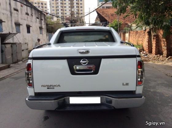 Nissan Navara Số sàn sản xuất 2010. Màu Trắng, Máy dầu 2 cầu điện chạy đằm lợi nhiên - 5