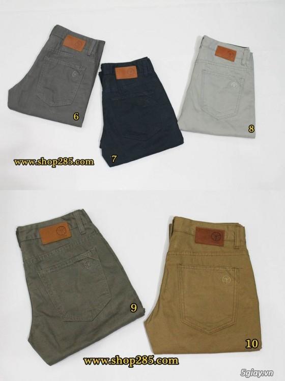 Quần kaki ZARA SlimFit,quần jean Levi's 511 SlimFit,quần short SuperDry,short jean CK - 48